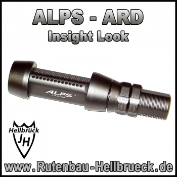 ALPS Rollenhalter Modell INS (Insight Look) - Farbe: Frosted Grey Titanium