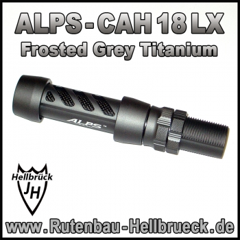 ALPS Rollenhalter Modell CAH 18 LX KLN - Frosted Grey Titanium -