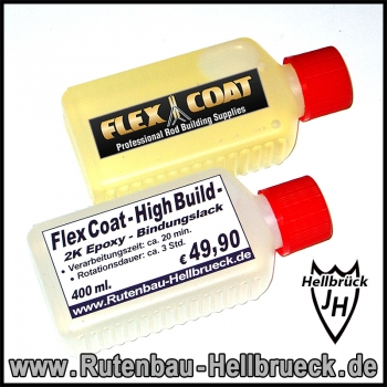 Flex Coat - High Build - Bindungslack 400 ml.