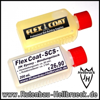 Flex Coat - SCS - Bindungslack 200 ml.