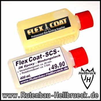Flex Coat - SCS - Bindungslack 400 ml.