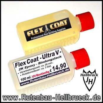 Flex Coat - Ultra V High Build - Bindungslack 100 ml.