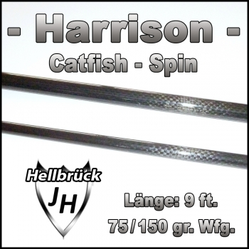Blank Harrison Catfish - Spin 9 ft.  75/150 gr. Wfg.