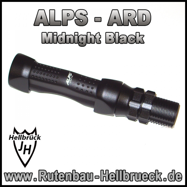 ALPS Rollenhalter Modell ARD Gr. 18  - Midnight Black -