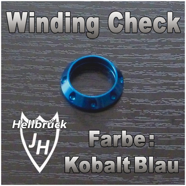 ALPS Winding Check - Farbe: Kobalt Blau -
