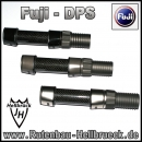 Fuji DPS de Luxe - Farbe: Black - Gunsmoke - Silber  -  Spacer Woven Carbon Clear !